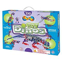 ZOOB 250 pc Glow Dinos Modeling Set