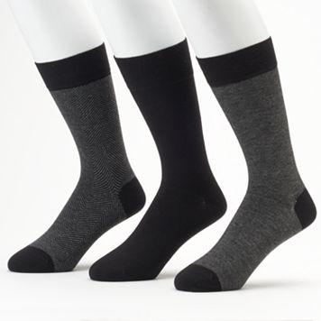 Marc Anthony Solid & Patterned Dress Socks - Men