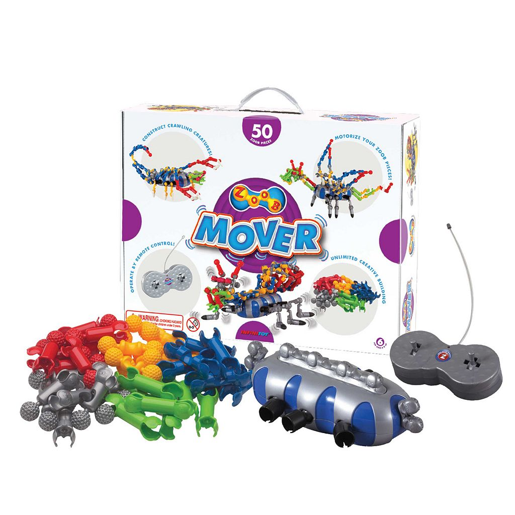 ZOOB 50-pc. Mover Modeling Set