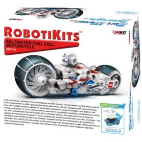 RobotiKits Saltwater Fuel Cell Motorcycle