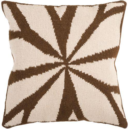 "Artisan Weaver Lausanne Decorative Pillow – 22"" x 22"""