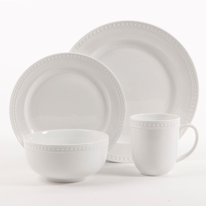 Food Network? Hobnail 16-pc. Porcelain Dinnerware Set & Food Network™ Hobnail 16-pc. Porcelain Dinnerware Set   null