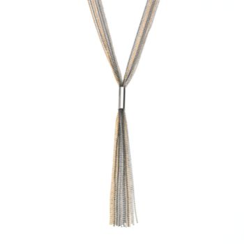 Jennifer Lopez Fringe Y Necklace