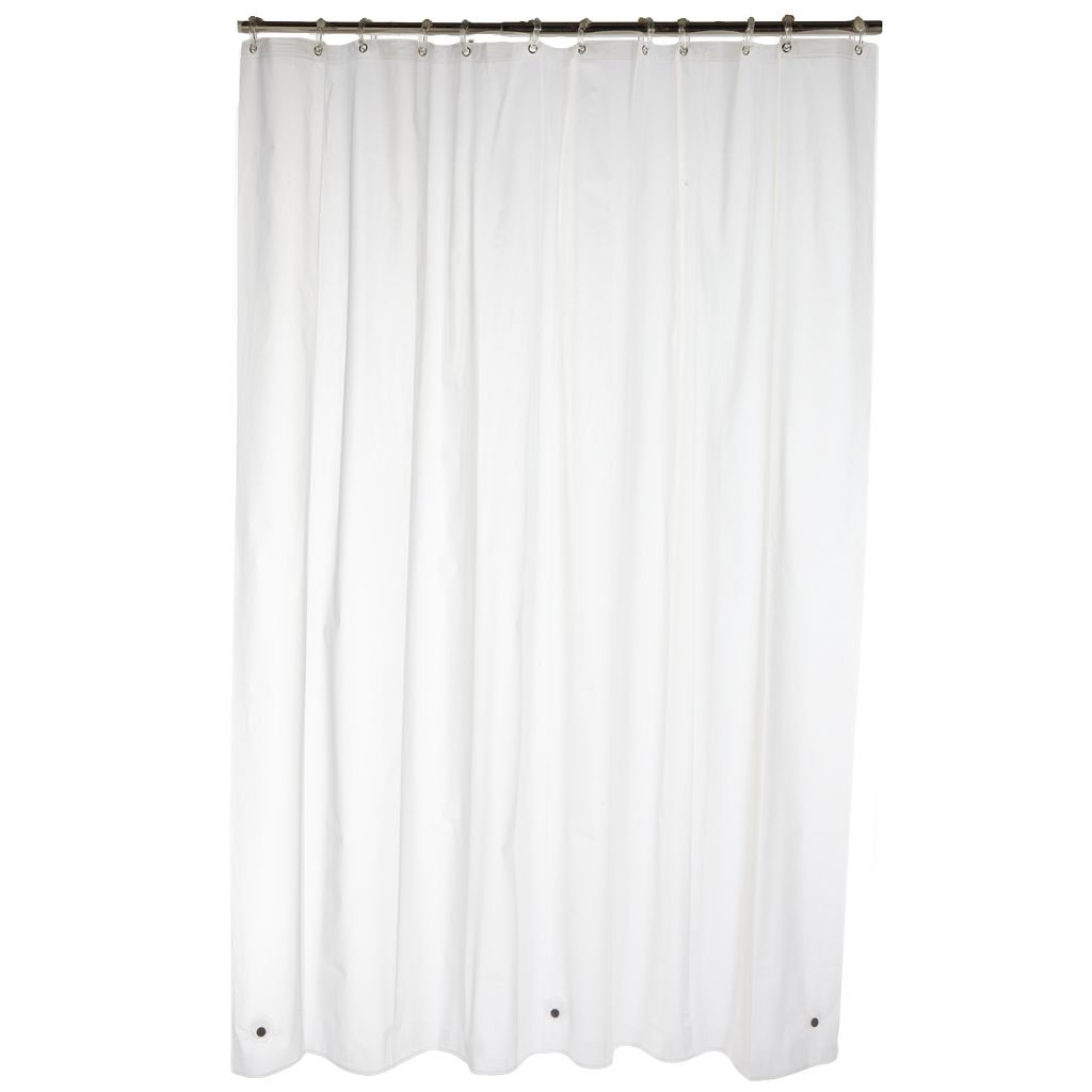 Home Classics® 4 Gauge Waterproof PEVA Shower Curtain Liner
