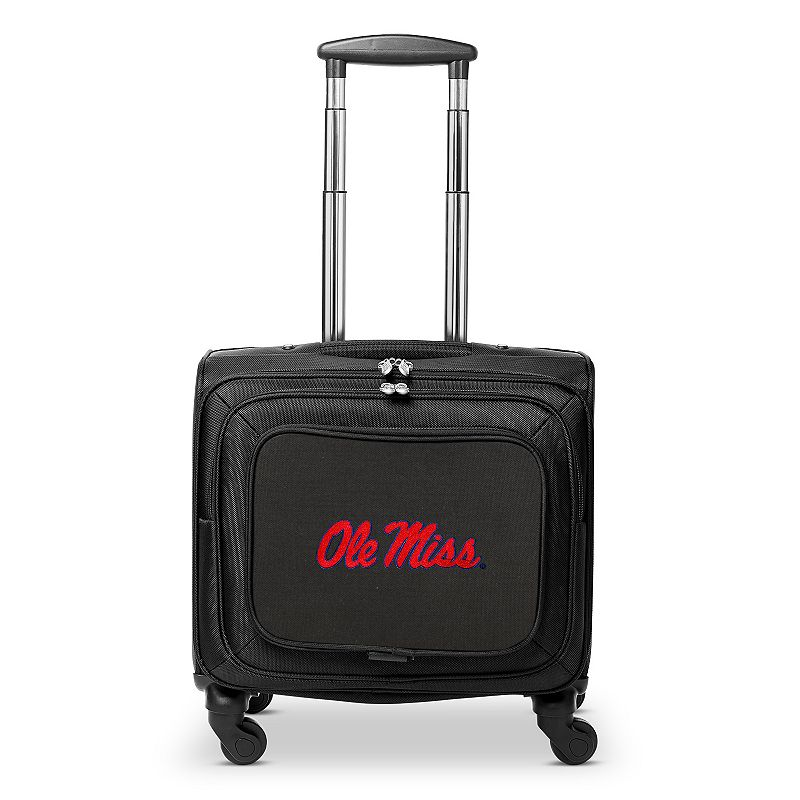 Ole Miss Rebels 16-inch Laptop Wheeled Business Case, Black