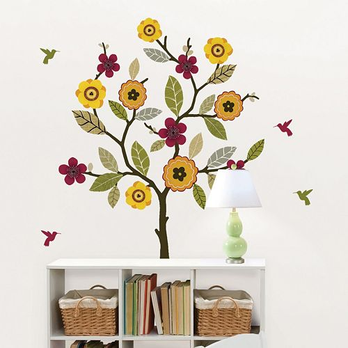 WallPops Twiggy Floral Wall Decals