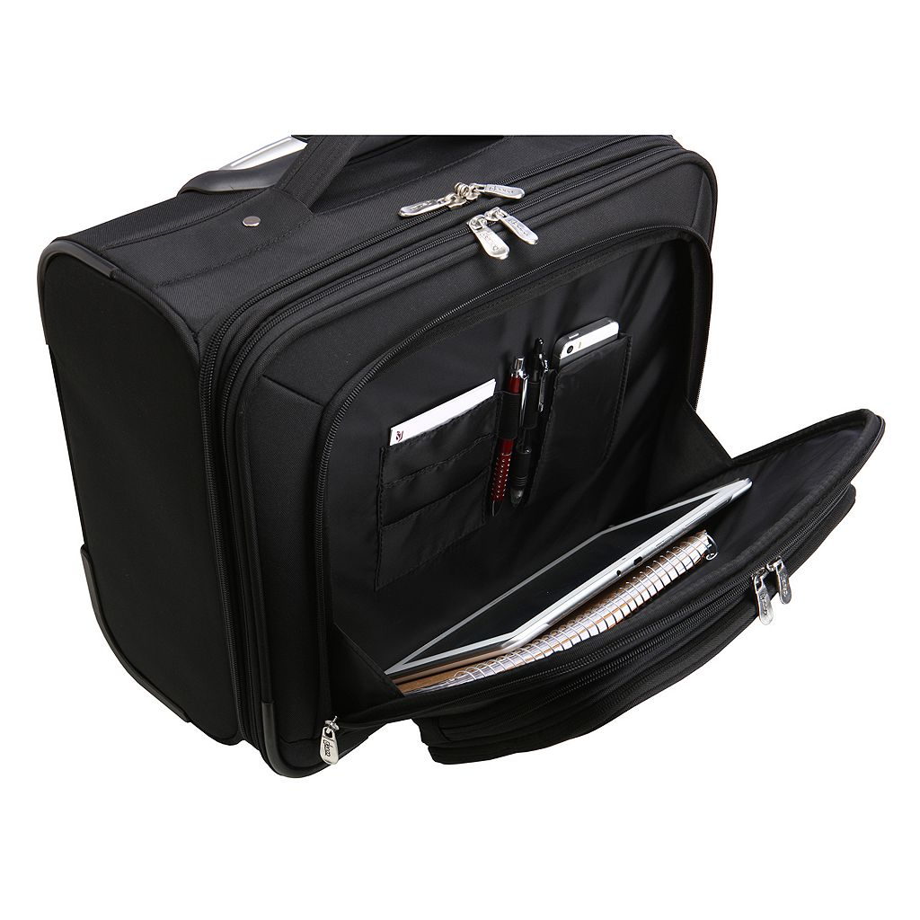U.S. Naval Academy 16-in. Laptop Wheeled Business Case