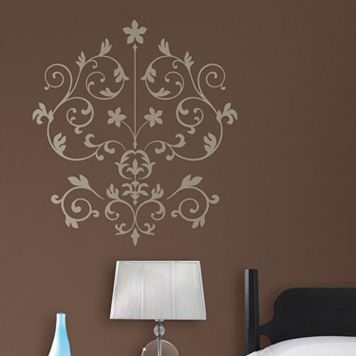 WallPops Nouveau Damask Wall Decal