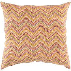 Artisan Weaver Boxborough Outdoor Decorative Pillow - 18'' x 18''