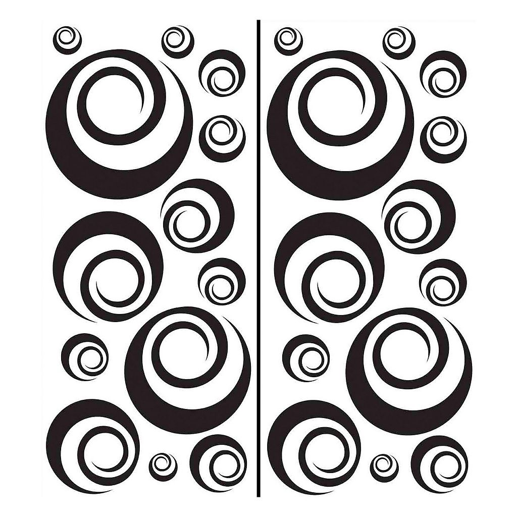 WallPops Ringlets Circle Wall Decals