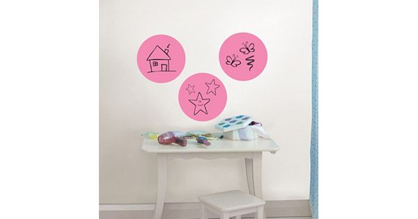wallpops dry erase dot wall decals. Black Bedroom Furniture Sets. Home Design Ideas