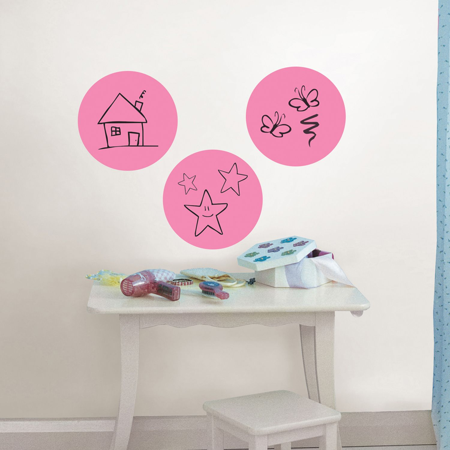WallPops Dry Erase Dot Wall Decals Part 61