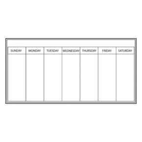 WallPops Weekly Planner Wall Decal