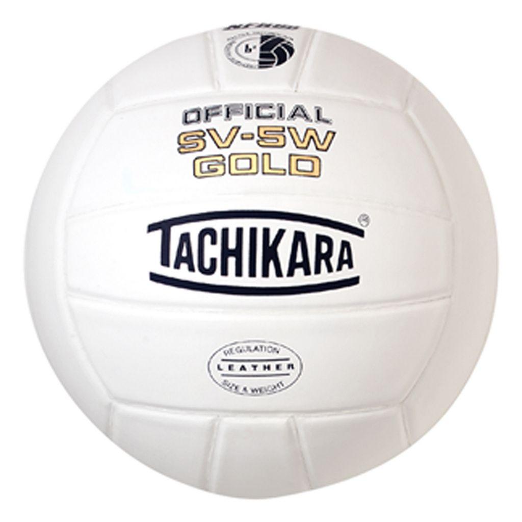 Tachikara SV5W Gold Premium Leather Volleyball