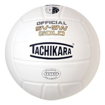 Tachikara SV5W Gold Premium Leather Volleyball
