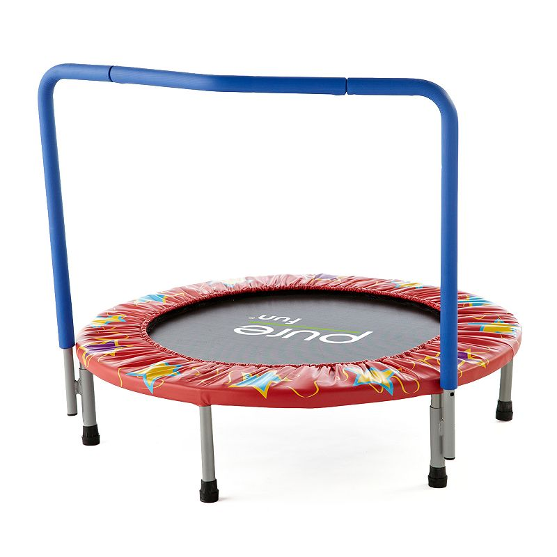 Pure Fun Kids' 36-in. Mini Trampoline, Multicolor