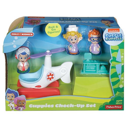 . Bubble Guppies Check Up Set by Fisher Price