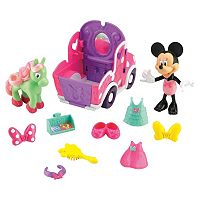 Disney Mickey Mouse & Friends Minnie Mouse Polka Dot Pony Cart by Fisher-Price