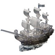 3D Crystal 101 pc Pirate Ship Puzzle by BePuzzled