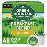 Green Mountain Breakfast Blend Coffee, Keurig® K-Cup® Pods, Light Roast - 48-pk.