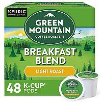 Keurig® K-Cup® Pod Green Mountain Coffee Breakfast Blend Coffee - 48-pk.