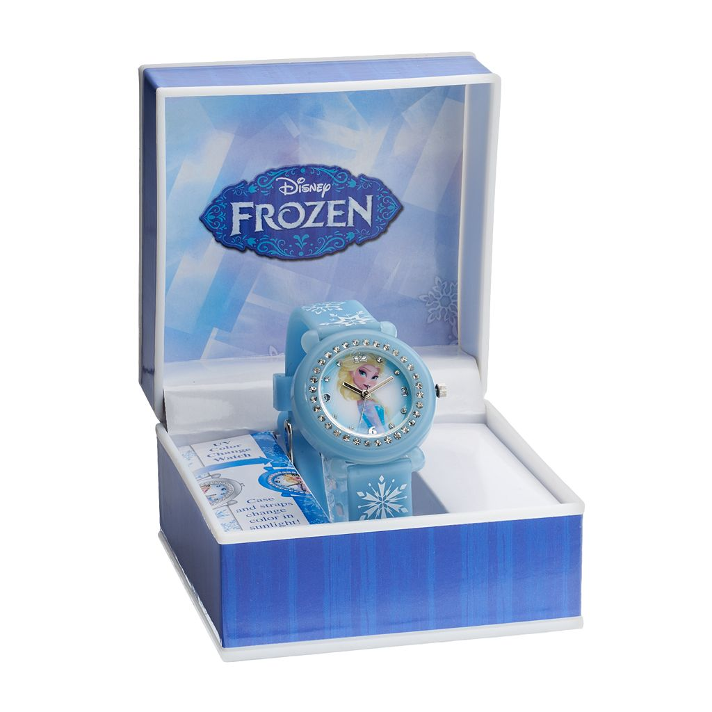 Disney's Frozen Kids' Elsa Color Change Watch