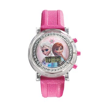 Disney's Frozen Kids' Anna & Elsa Digital Light-Up Watch