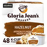 Gloria Jean's Hazelnut Coffee, Keurig® K-Cup® Pods,Flavored Coffee - 48-pk.
