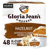 Keurig® K-Cup® Pod Gloria Jean's Hazelnut Coffee - 48-pk.