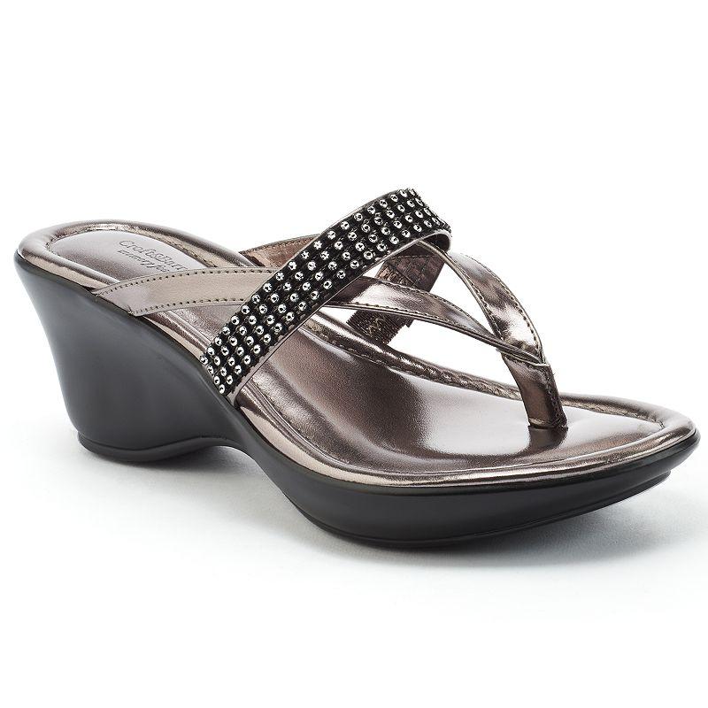 Black Thong Sandals Kohl S