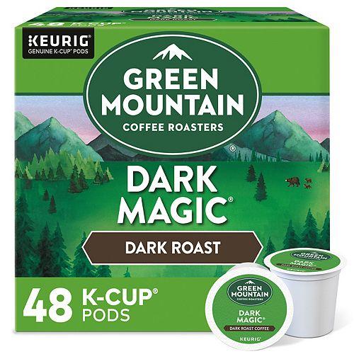 Green Mountain Dark Magic Coffee, Keurig® K-Cup® Pods, Dark Roast - 48-pk.