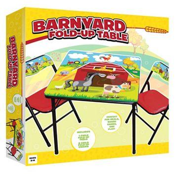 Barnyard Folding Table & Chairs