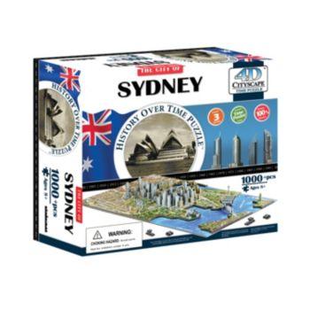 4D Cityscape Sydney Time Puzzle