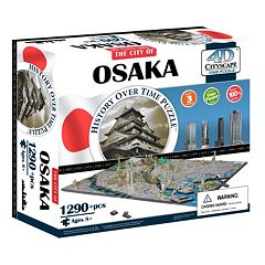 4D Cityscape Osaka Time Puzzle by