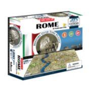 4D Cityscape Rome Time Puzzle