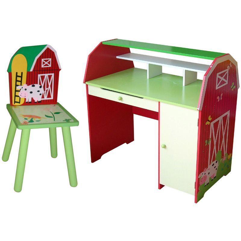 Kids Wood Desk