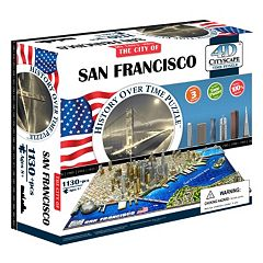 4D Cityscape San Francisco Time Puzzle by