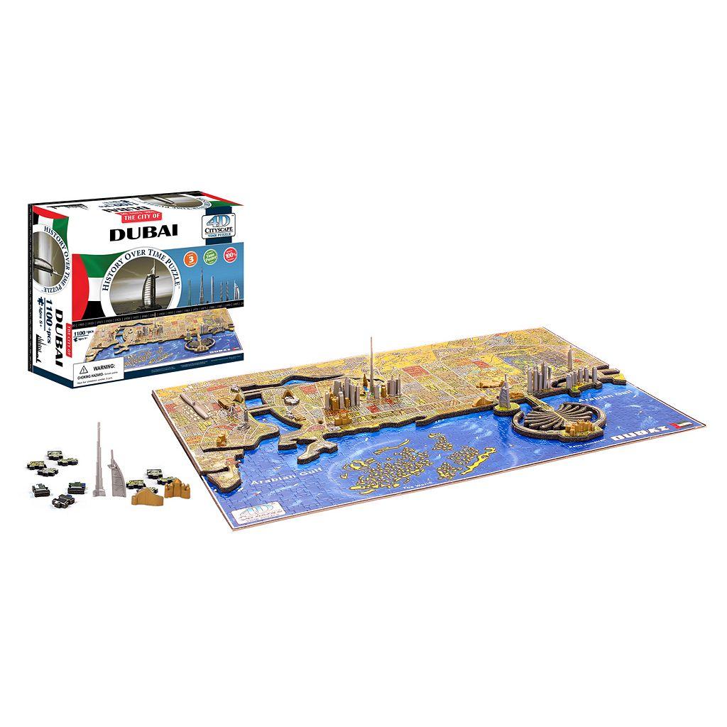 4D Cityscape Dubai Time Puzzle