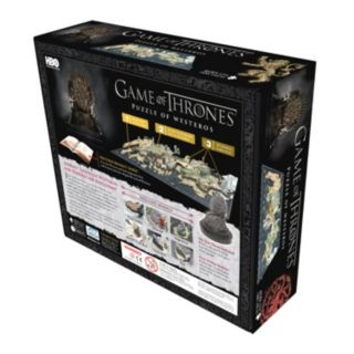 4D Cityscape Game of Thrones: A Guide to Westeros Time Puzzle