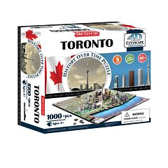 4D Cityscape Toronto Time Puzzle by