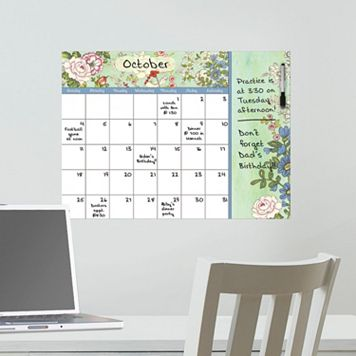 WallPops Vintage Bazaar Monthly Calendar Wall Decal