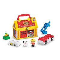 Little People Take-Along Fire Station by Fisher-Price