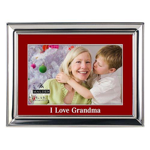 Malden I Love Grandma 4 X 6 Frame