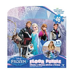 Disney Frozen 46 pc Floor Puzzle