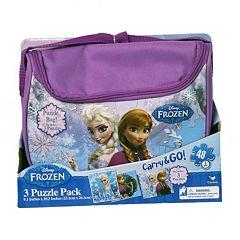 Disney Frozen Anna & Elsa Puzzle Bag Pack