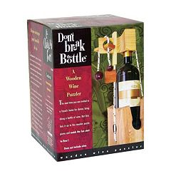 Don't Break the Bottle Brain Teaser Puzzle by