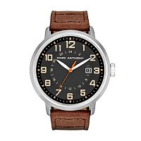 Marc Anthony Men's Leather Watch