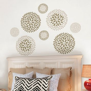 WallPops Chrysanthemum Wall Decals