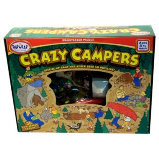 Crazy Campers Brain Teaser Puzzle by Popular Playthings
