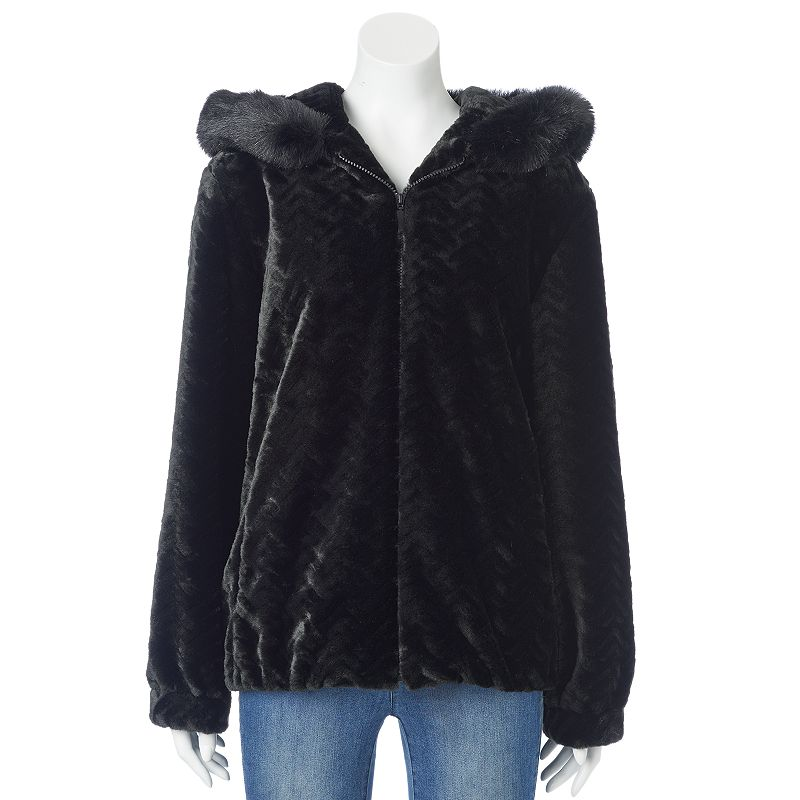 Faux Fur Coats With Hood - Tradingbasis